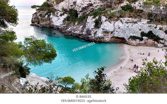 Macarelleta beach, Menorca, Spain