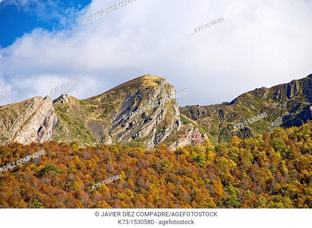 Sierra Cebolleda. Picos de Europa National Park. Leon Province. Castilla y Leon. Spain