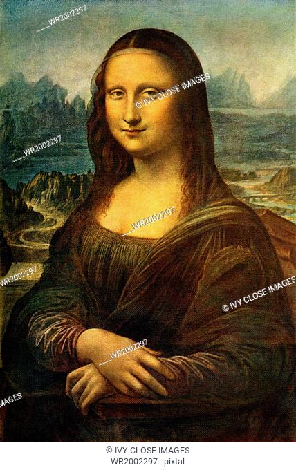 The work titled Mona Lisa (painted between 1503 and 1505), by the renowned Italian (actually Florentine) artist Leonardo da Vinci