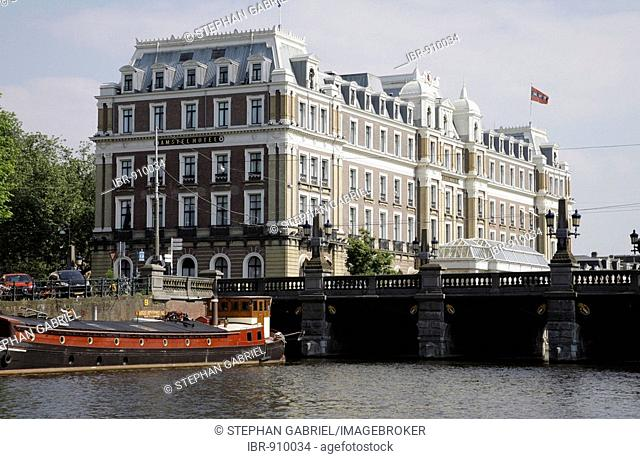 Hotel Amstel Intercontinental, a luxury hotel on the Amstel, Amsterdam, Netherlands, Europe