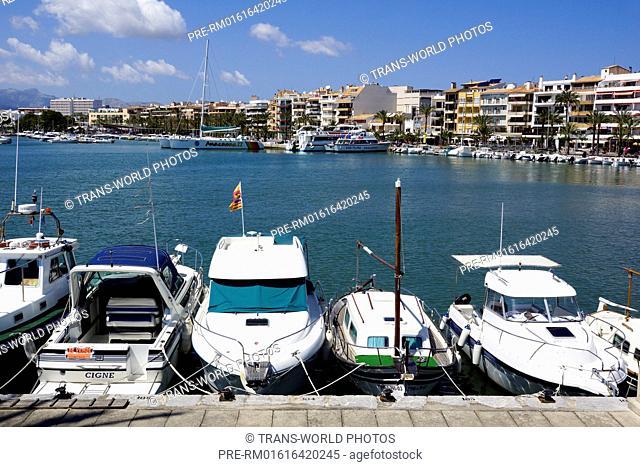 Port d'Alcudia, Mallorca, Spain / Port d'Alcudia, Mallorca, Spanien