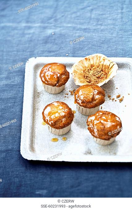 Speculos ginger biscuit muffins