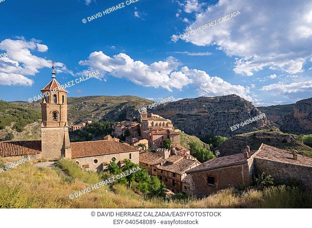Albarracin, medieval village in teruel, Spain