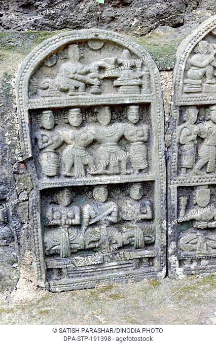 Relief vimleshwar temple sindhudurg maharashtra India Asia