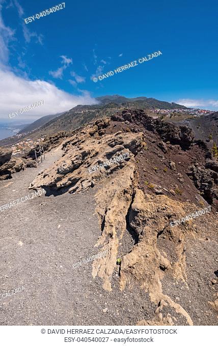 San Antonio volcano in La Palma island, Canary islands, Spain