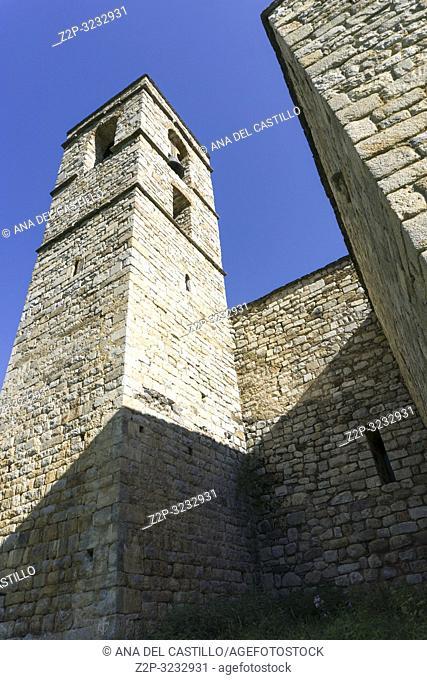 San Felix church in Barruera village Boi valley Lleida Catalunya Spain