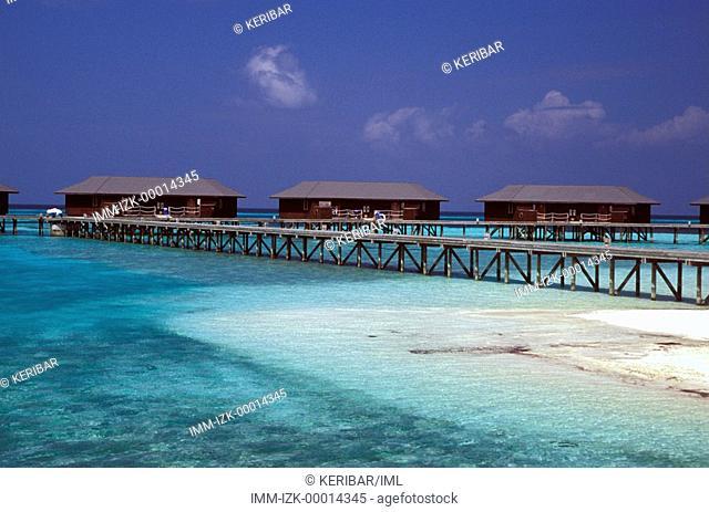 The Water Bungalows at Club Med Kani, Maldives, Asia