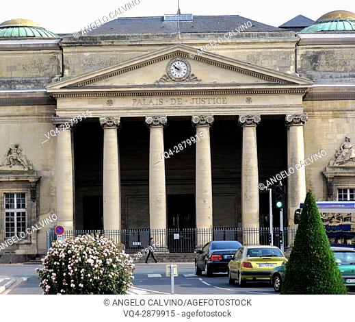 Caen, Palais de Justice, Normandy