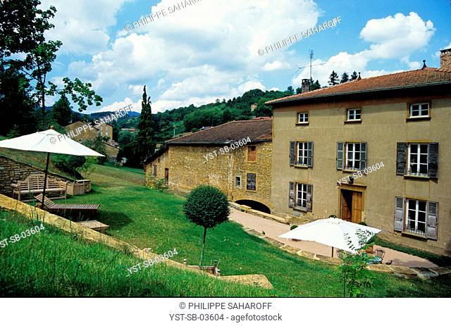 Antique winery reformed into a house, Lyon, Rhône-Alpes, France