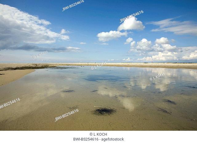 North Sea coast on Amrum, Germany, Schleswig-Holstein, Amrum