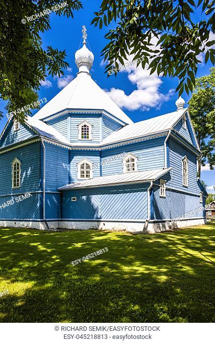 Saint Archangel Michael Orthodox Church, Stary Kornin, Podlaskie Voivodeship, Poland