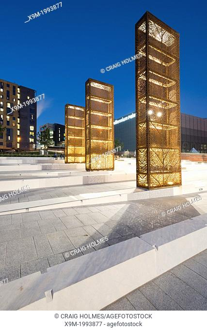 Eastside City Park is a 6.75 acre (2.73 ha) urban park located in the Eastside district of Birmingham City Centre. England, UK