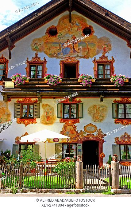 Decorated house, Oberammergau, Germany