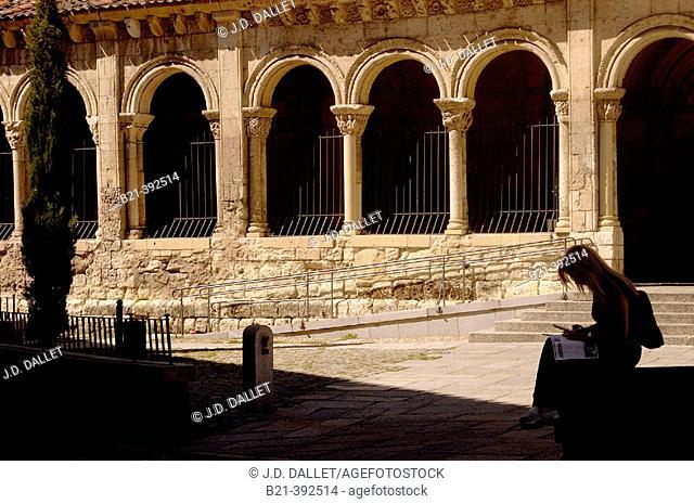 Romanic church of San Esteban. Segovia. Spain