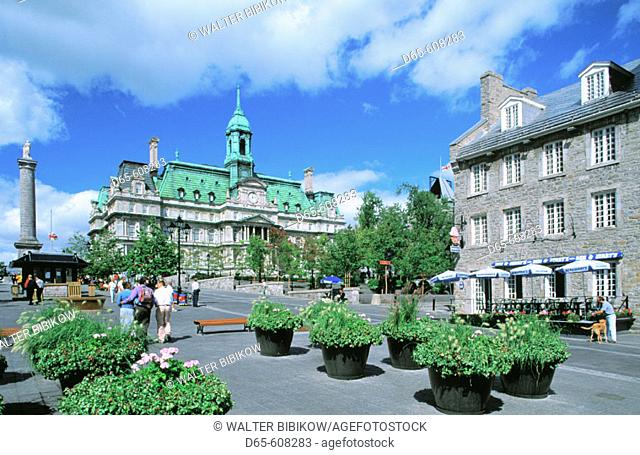 Place Jacques Cartier. Montreal. Quebec. Canada