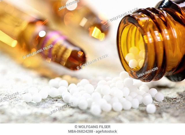 Nature medicine, homoeopathy and alternative medicine close Globuli