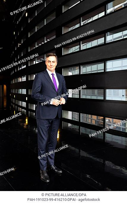 FILED - 23 October 2019, France (France), Straßburg: David McAllister (CDU / EPP Group) is standing in the building of the European Parliament
