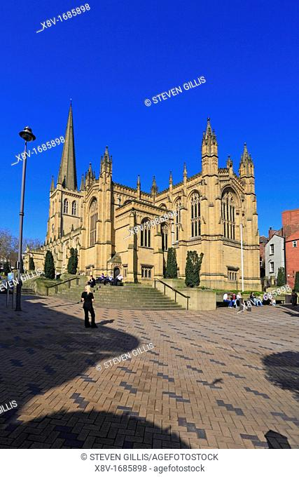 Wakefield Cathedral, Wakefield, , West Yorkshire, England, UK