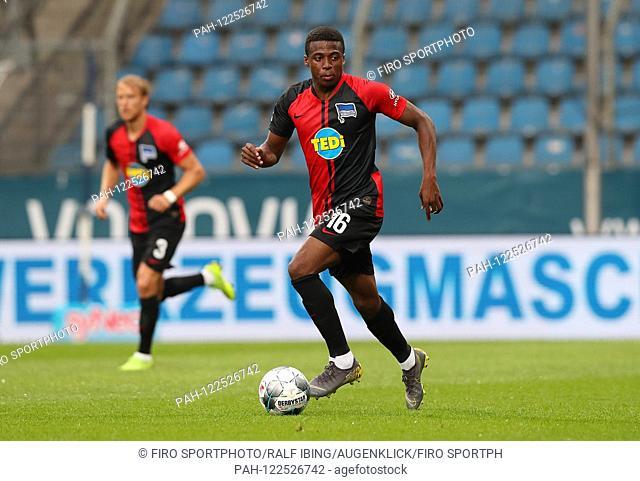firo: 20.07.2019, Football, 2.Bundesliga, season 2019/2020, Test match, VfL Bochum - Hertha BSC Berlin 1: 1 Javairo DILROSUN, Hertha