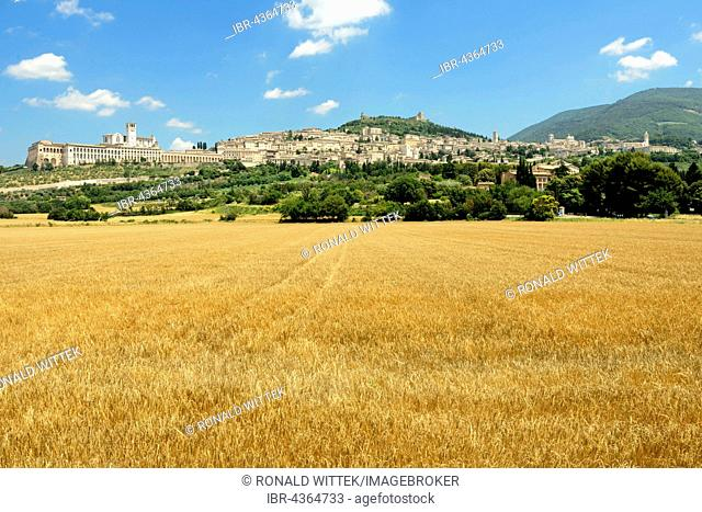 View of Assisi, Umbria, Italy