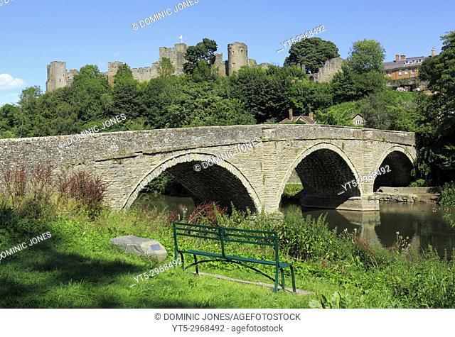Ludlow Castle, Ludlow, Shropshire, England, Europe