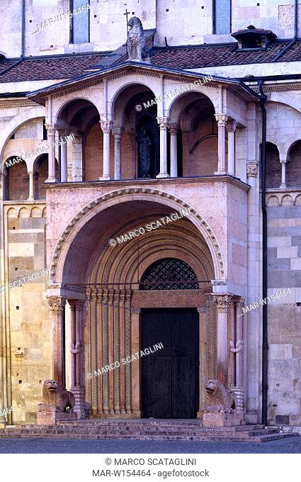 europe, italy, emilia romagna, modena, cathedral