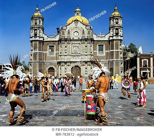 Our Lady of Guadalupe Basilica, cathedral, Indios, Mexico City, Mexico, Central America