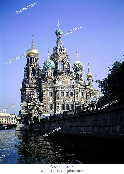 Church of the Resurrection of Jesus Christ St. Petersburg Russia