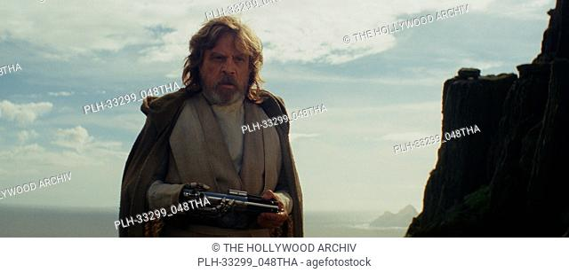 """""""Star Wars: The Last Jedi"""" (2017) Luke Skywalker (Mark Hamill) Lucasfilm Ltd"