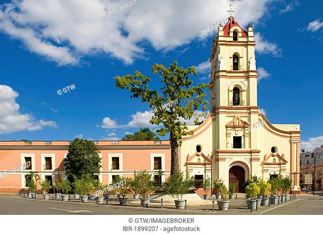 La Merced church, Camaguey, Camagueey, Unesco World Heritage Site, Cuba