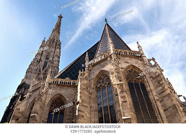 Spire of Stephansdom, Vienna, Austria