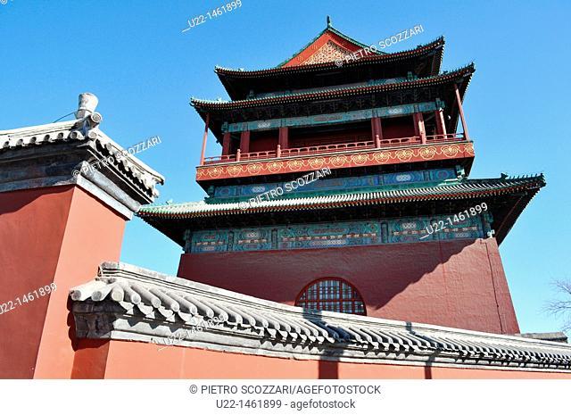 Beijing (China): the Drum Tower