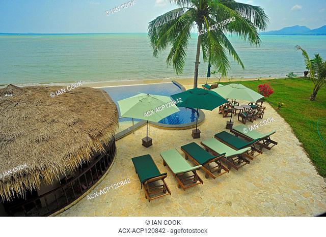 Sara Beach Resort, Baangsan Pathiu, Chumphon Province, Thailand