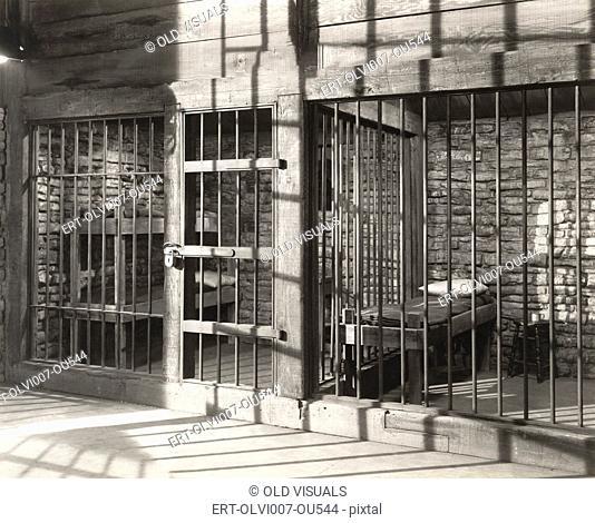 Empty Jail Cell (OLVI007-OU544-F)