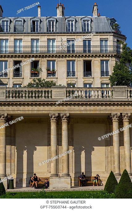 THE HOTEL DE SOUBISE HOUSES THE NATIONAL ARCHIVES, 3RD ARRONDISSEMENT, PARIS (75), ILE-DE-FRANCE, FRANCE