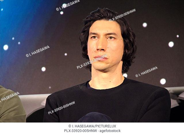 """Adam Driver 12/04/2019 """"""""Star Wars: The Rise of the Skywalker"""""""" Press Conference held in Pasadena, CA. Photo by I. Hasegawa / HNW / PictureLux"""