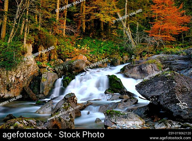 landscape river in French