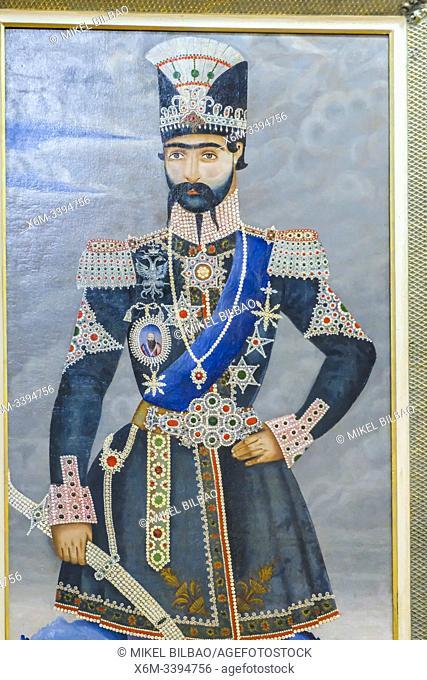 Painting. Museum of Khachatur Kesaratsi. Vank Cathedral or Holy Savior Cathedral. New Julfa district. Isfahan, Iran. Asia