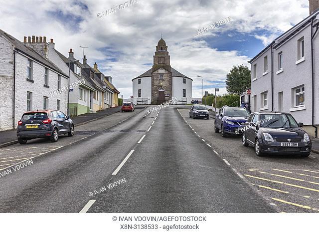 Kilarrow Parish Church, Bowmore, Islay, Inner Hebrides, Argyll, Scotland, UK