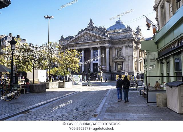 Brussels Stock Exchange, Brussels, Belgium