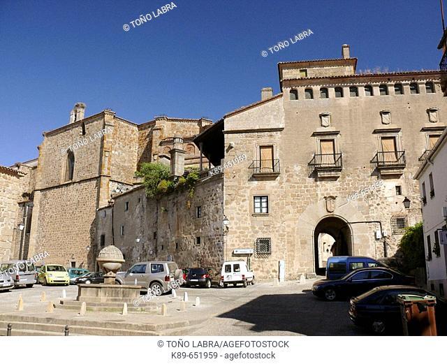 Marqués de Mirabel Palace. Plasencia, Cáceres province, Extremadura, Spain