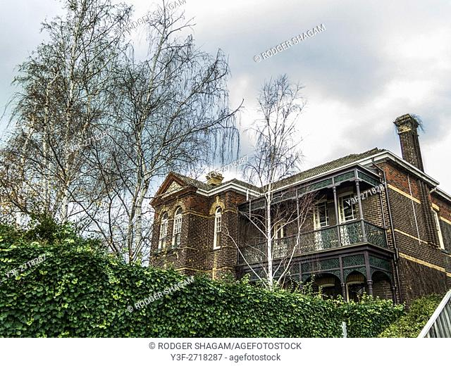 A Victorian house in Melbourne, Victoria, Australia. Haunted Or not ..