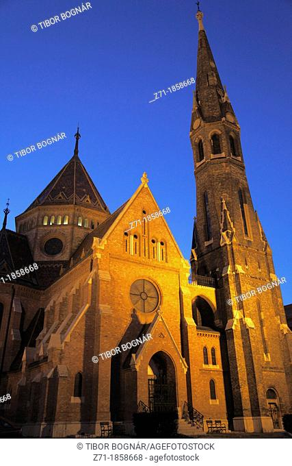 Hungary, Budapest, Capuchin Church