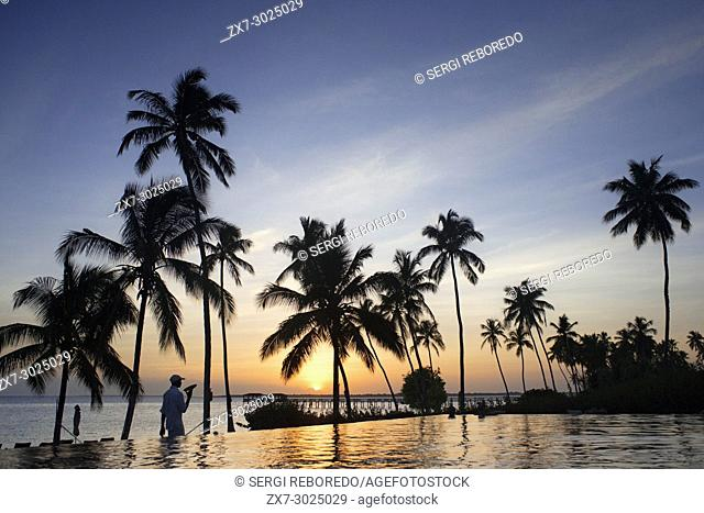 Swimming pool of The Residence Hotel in Zanzibar island a semi-autonomous part of Tanzania, in East Africa