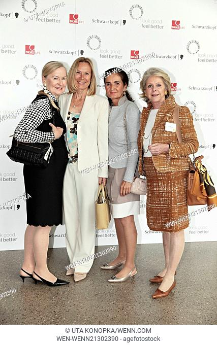 Celebrities attending the DKMS LIFE Charity Ladies Lunch at Folkwang Museum. Featuring: Sybille Beckenbauer,Gisa Berghof Where: Essen