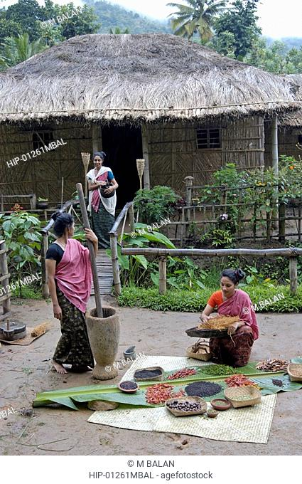 SPICES PROCESSING, HIGH RANGES, KERALA