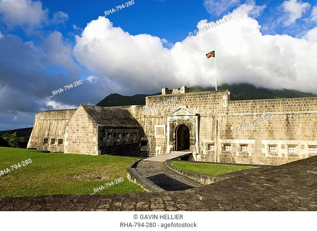 Brimstone Hill Fortress, 18th century compound, largest and best preserved fortress in the Caribbean, Brimstone Hill Fortress National Park