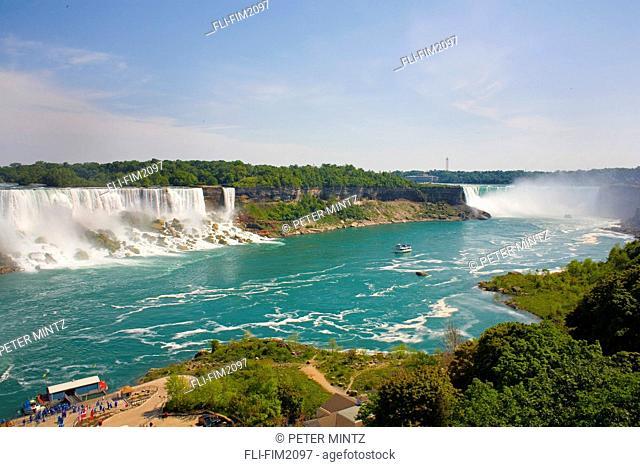 American and Horseshoe Falls, Niagara Falls, Ontario