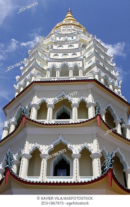 Ban Po Tha Pagoda 10000 Buddhas, Kek Lok Si Temple complex, Penang, Malaysia