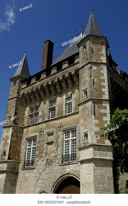 France, the castle of Talcy